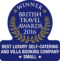 British Travel Awards Winner 2016