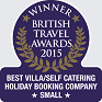 British Travel Awards Winner 2014