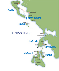 Ionian Map