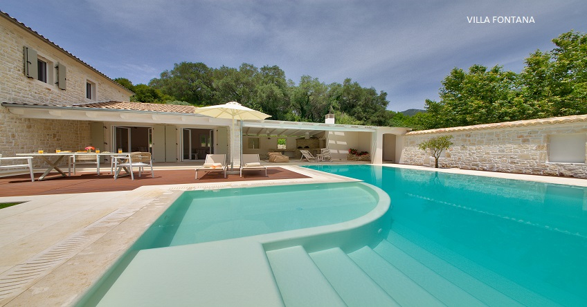Private Villas In Parga