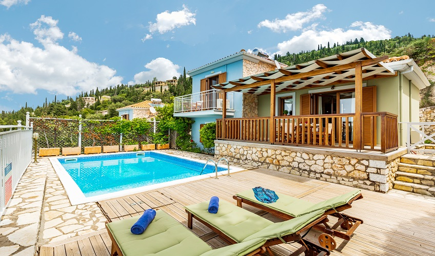 2 Bed Villa, Private pool, Flts & Car hire