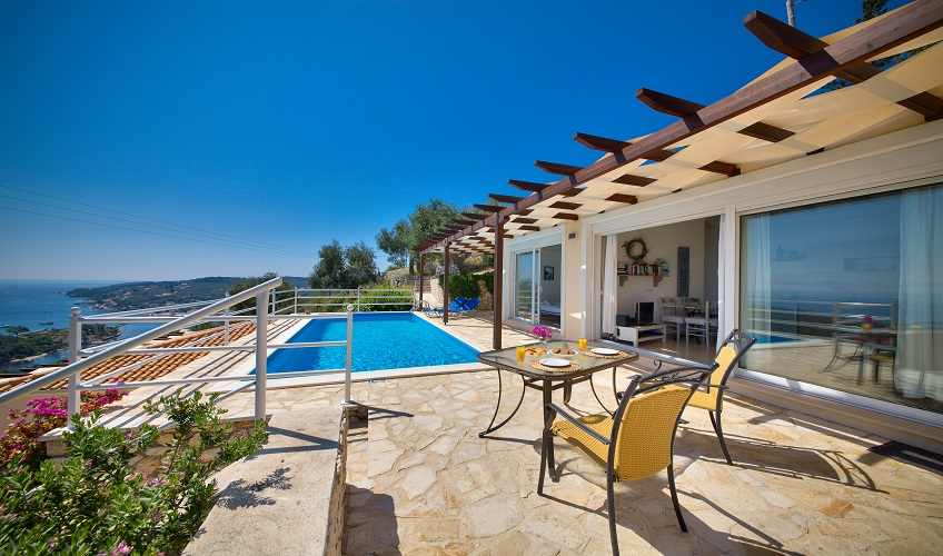 Ionian and Aegean Island Holidays  Villa Fegari  Gaios  Paxos