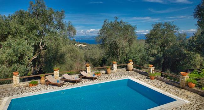 Ionian and Aegean Island Holidays  Villa Maritsa  Fontana  Paxos