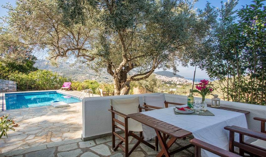 Ionian and Aegean Island Holidays: Villa Rania, near
