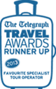 British Travel Awards Winner 2012